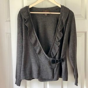 Italian Merino Wool Cardigan- Size Medium